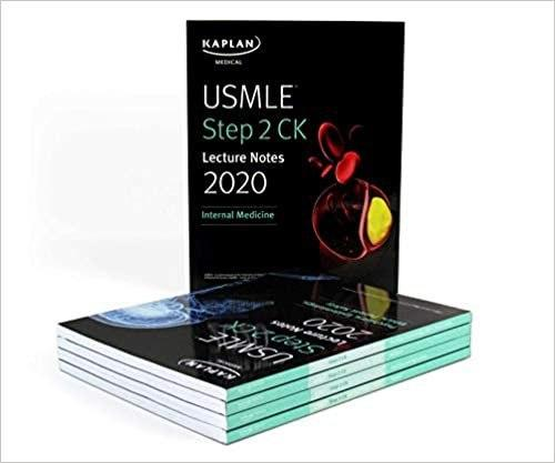 USMLE Step 2 CK Lecture Notes 2020: 5-book set